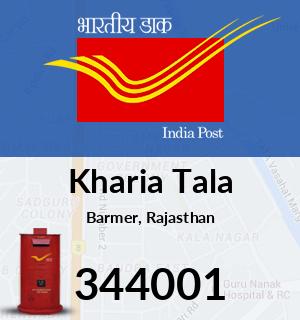 Kharia Tala Pincode - 344001