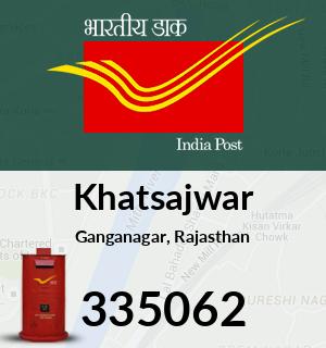 Khatsajwar Pincode - 335062