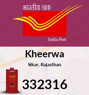 Kheerwa Pincode - 332316