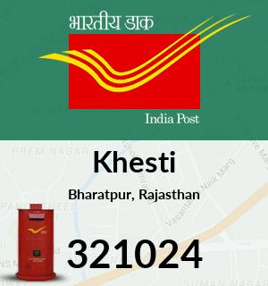 Khesti Pincode - 321024