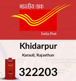 Khidarpur Pincode - 322203