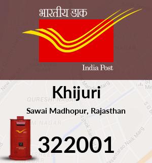 Khijuri Pincode - 322001
