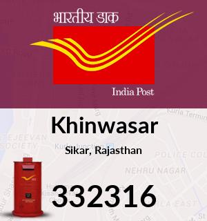 Khinwasar Pincode - 332316