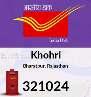 Khohri Pincode - 321024