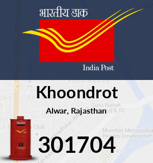 Khoondrot Pincode - 301704