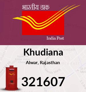 Khudiana Pincode - 321607
