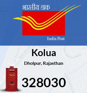 Kolua Pincode - 328030