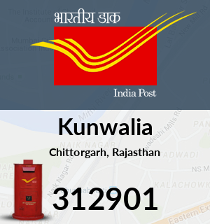 Kunwalia Pincode - 312901
