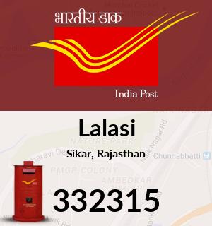 Lalasi Pincode - 332315