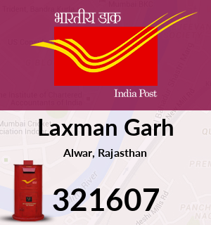 Laxman Garh Pincode - 321607