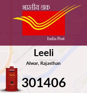 Leeli Pincode - 301406