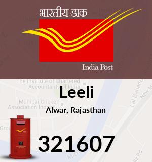 Leeli Pincode - 321607