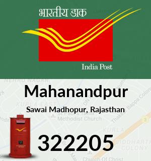 Mahanandpur Pincode - 322205