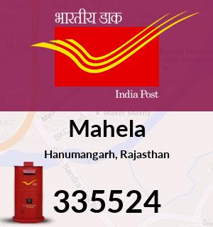 Mahela Pincode - 335524