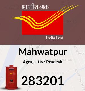 Mahwatpur Pincode - 283201