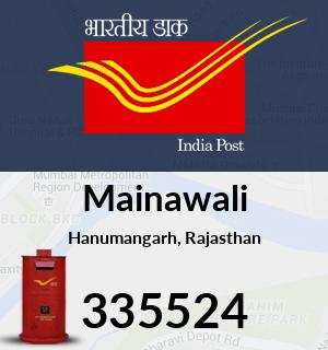 Mainawali Pincode - 335524