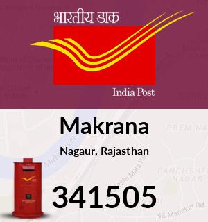 Makrana Pincode - 341505