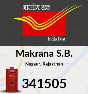 Makrana S.B. Pincode - 341505