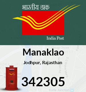 Manaklao Pincode - 342305