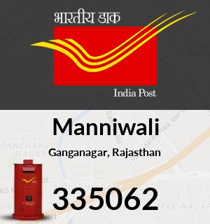 Manniwali Pincode - 335062