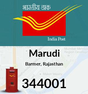 Marudi Pincode - 344001