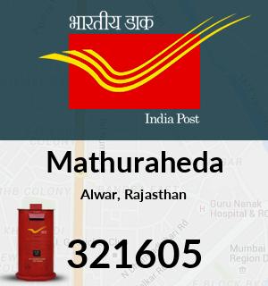 Mathuraheda Pincode - 321605