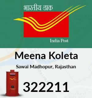 Meena Koleta Pincode - 322211