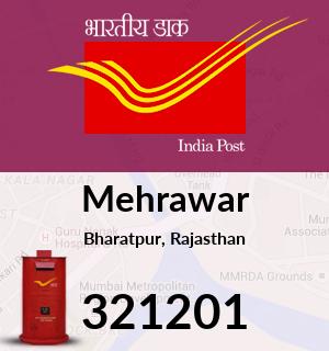Mehrawar Pincode - 321201