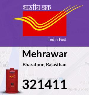 Mehrawar Pincode - 321411