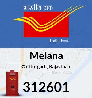 Melana Pincode - 312601