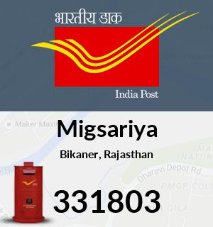 Migsariya Pincode - 331803