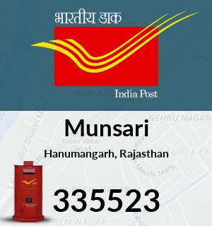 Munsari Pincode - 335523