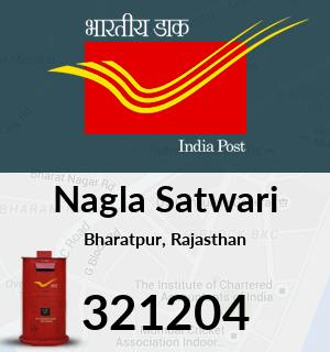 Nagla Satwari Pincode - 321204