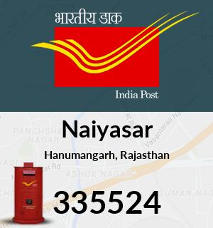 Naiyasar Pincode - 335524