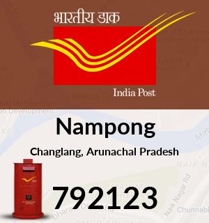 Nampong Pin Code, Changlang, Arunachal Pradesh
