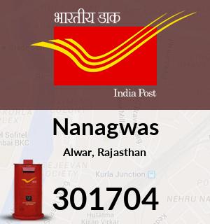 Nanagwas Pincode - 301704