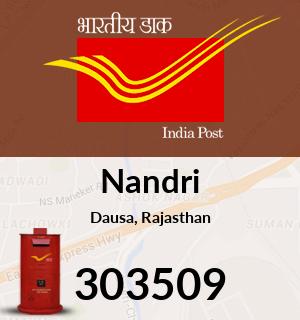 Nandri Pin Code Dausa Rajasthan