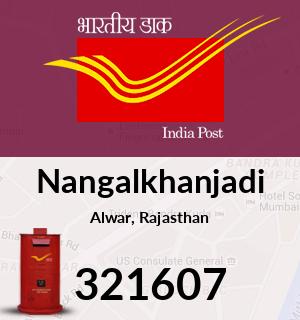 Nangalkhanjadi Pincode - 321607