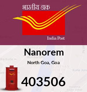 Nanorem Pincode - 403506