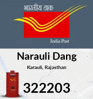Narauli Dang Pincode - 322203