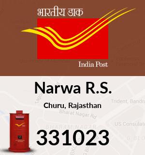 Narwa R.S. Pincode - 331023