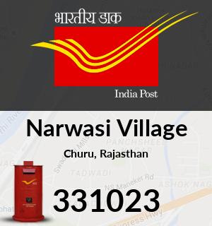 Narwasi Village Pincode - 331023
