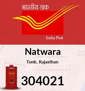 Natwara Pincode - 304021