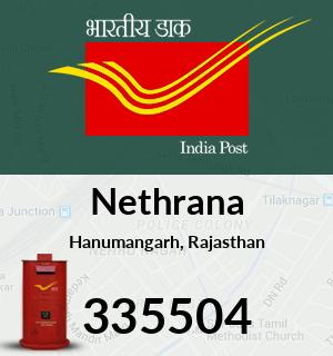 Nethrana Pincode - 335504