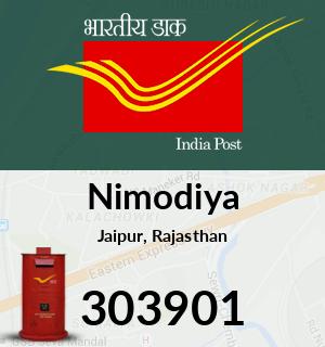 Nimodiya Pincode - 303901