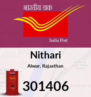 Nithari Pincode - 301406