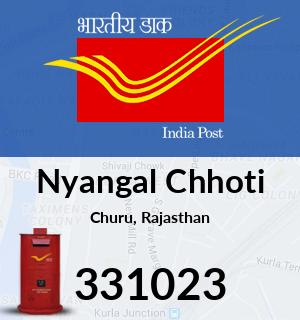 Nyangal Chhoti Pincode - 331023