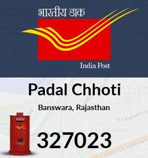 Padal Chhoti Pincode - 327023