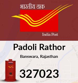 Padoli Rathor Pincode - 327023