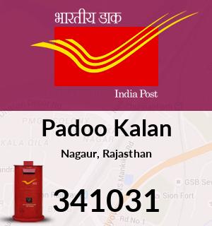 Padoo Kalan Pincode - 341031